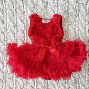 Red Tutu Holiday Dress
